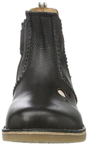 Belmondo 924125/H, Botas de Cuero Mujer Negro