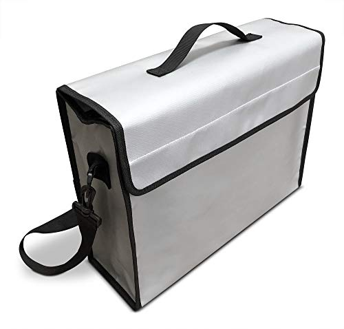 Fireproof Document Bag 2000°F for Money and