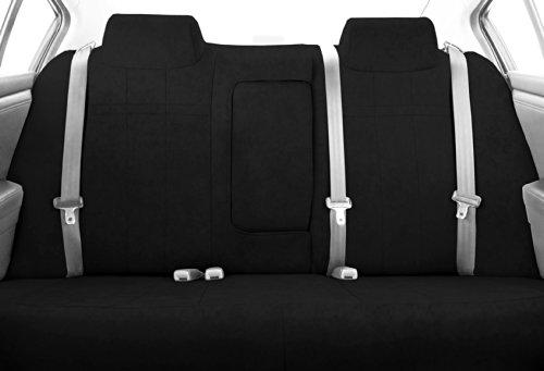 CalTrend Rear Row 40/60 Split Bench Custom Fit Seat Cover for Select Kia Optima Models - MicroSuede (Black)