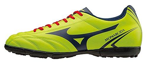 Mizuno Chaussures Football Officials 2015/2016 Monarcida AS P1GD152437 Lime Navy Taille 40