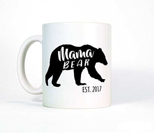 Cheap Wrestling Boots Costume (New Mother Gift-Mama Bear Mug-New Mom Gift-Mom Mug-New Parent Gift for Mom-Coffee Mug-Custom Mug for Mom-Established Date)