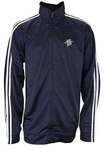 Adidas Nba Track Jacket - adidas Mens Tall Retro Golden State Warriors Full Zip Track Jacket, Navy
