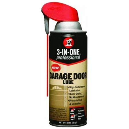 WDC100581 - 3-in-one Professional Garage Door Lubricant, 11 Oz Aerosol Can
