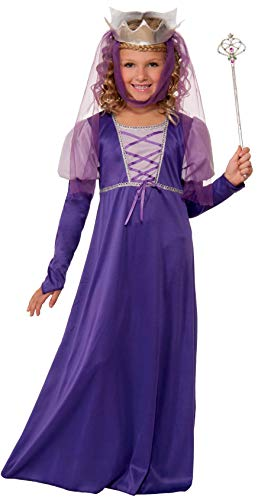 Forum Novelties Renaissance Queen Child Costume, Large -