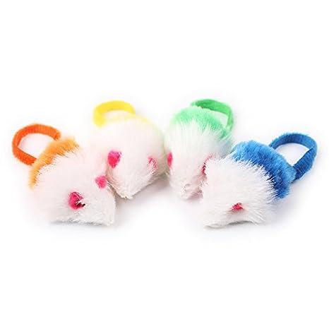ZHJZ- Juguete Interactivo de Peluche con Forma de Ratón y Cola Larga, Juguete Interactivo para Gato: Amazon.es: Productos para mascotas