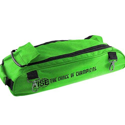 cd5b3cc01db0 Vise Shoe Bag Add On for Vise 3 Ball Roller Bowling Bags- Green