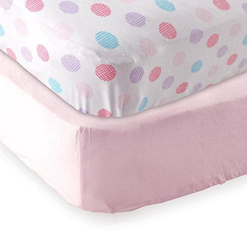 Fitted Crib Sheet 2-Pack