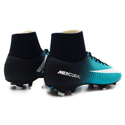 Nike Unisex-Kinder Jr Mercurial Victory VI DF FG Fußballschuhe Blau