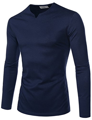 Long Sleeve Fitted Crew Tee - 8