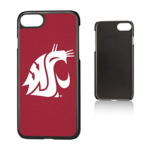 - Keyscaper KSLMI7-0WST-SOLID1 Washington State Cougars iPhone 8/7 Slim Case with WSU Solid Design