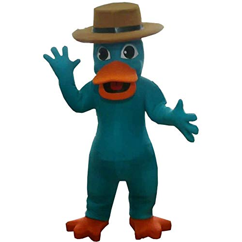 Perry The Platypus of Phineas and Ferb Mascot Costume Character Cosplay Party Birthday Halloween -