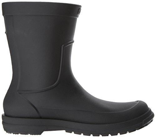 Crocs Mens Allcast M Rain Boot Nero / Nero