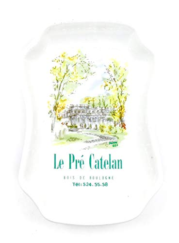Ashtray Signed - Le Pre' Catelan Ashtray,Bois De Boulogne,Signed Painting,Numbered