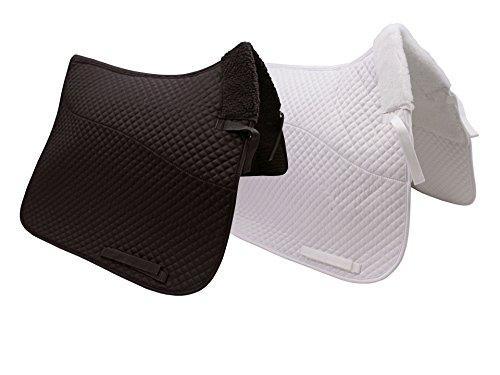 Derby Originals Semi Fleece Lined Dressage Saddle Pad