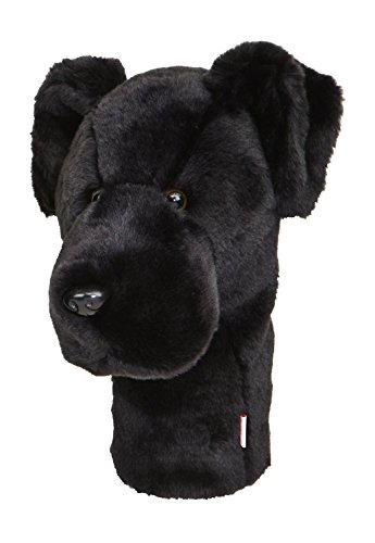 Lab Headcover Black - Daphne's Black Lab Headcovers