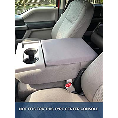 ISSYAUTO F150 Center Console Cover F250 F350 Console Lid Armrest Cover Replacement with Latch Opening: Automotive