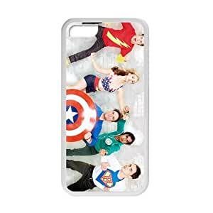 The Big Bang Theory Cast Poster Cover Protective Cover Case for iPhone 5c (Laser Technology)