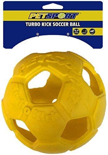 Turbo Kick Soccer Ball 6 Dog Toy Petsport by PetSport