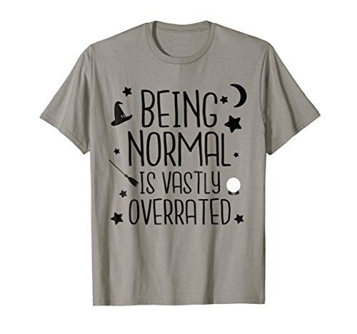 (Being Normal Is Vastly Overrated Funny Halloween)