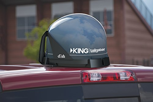 KING VQ4550 Tailgater Bundle - Portable Satellite TV Antenna and DISH Wally HD Receiver by KING (Image #6)