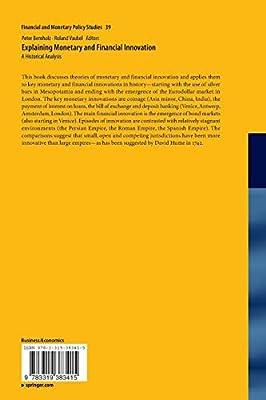 Explaining Monetary and Financial Innovation: A Historical