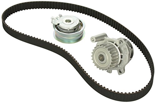 (Gates TCKWP296M Timing Belt Component Kit W/Water Pump)