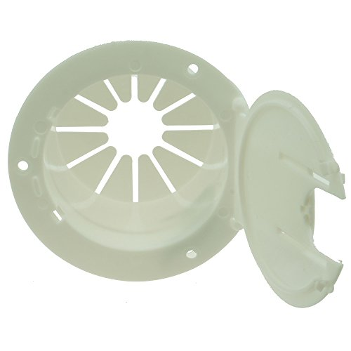 Electric Cable Hatch - NUSET RV011 White Electrical Cable Hatch