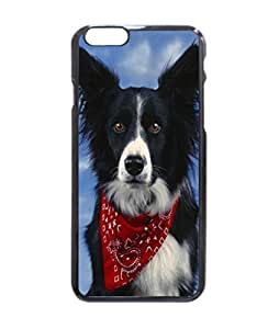 Boast Diy Border Collie Pattern Image protective iphone 6 case cover Hard NhllhYDtssI Plastic case cover For iPhone 6 - 4.7 Inches
