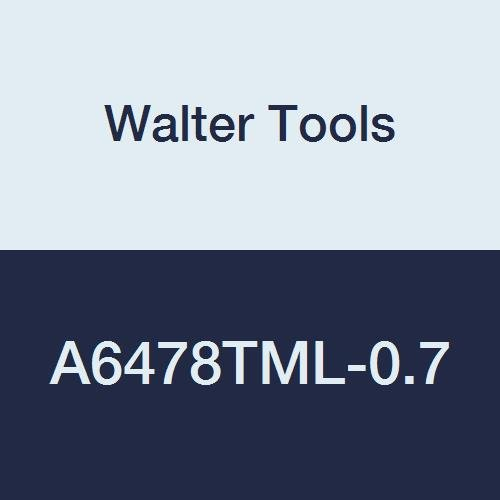 7 mm Extension Length 5.9 mm Length of Cut 55 mm Overall Length 5.6 mm Maximum Cut Depth Walter Tools A6478TML-0.7 Alpha 2 Plus Micro 0.7 mm Solid Carbide Micro Twist Drill