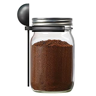 Jarware Coffee Spoon Clip for Wide Mouth Mason Jars, 6""
