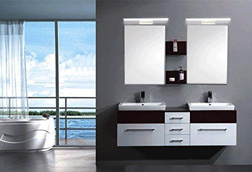 Crystal Bathroom Light Fixtures Stainless Steel Led Bath: ZHMA LED Mirror Lights, 6W Bathroom Cabinet Wall Light