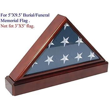 Unfolded Flag Display Case