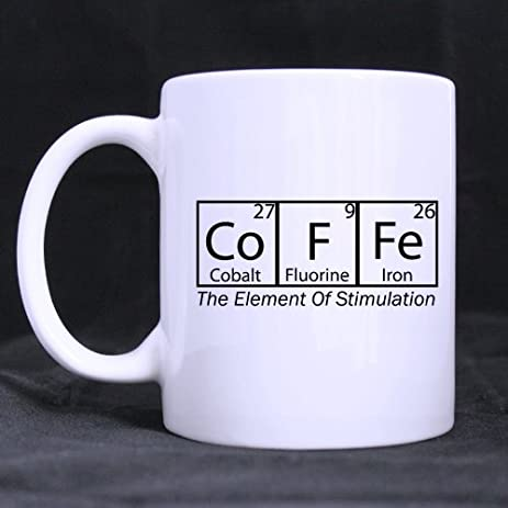 Amazon funny quotes coffee periodic table of elements white funny quotes coffee periodic table of elements white ceramic coffee mugs cup funny chemical element urtaz Gallery