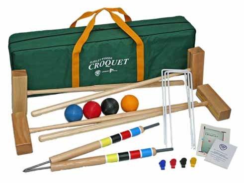 Sport 4 Player Croquet Set by Oakley Woods Croquet by Oakley Woods Croquet