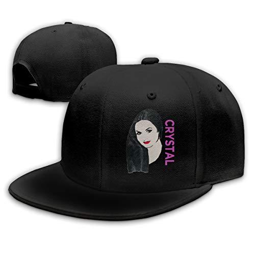 D5LGI4N Talladega Nights Ricky Bobby Crystal Gayle Fashion Personalized Baseball Cap for Mens&womensOne Size Black ()