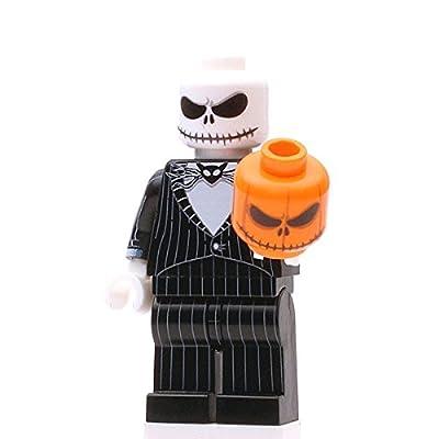 Custom Design Minifigure - NBC Pumpkin King: Toys & Games
