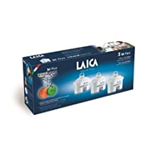 Laica Bi-Flux Water Filter Cartridge with MineralBalance - 3 Pack