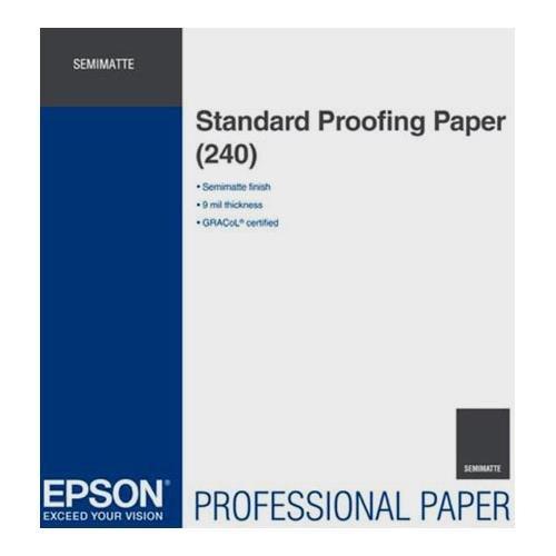 Epson Standard Proofing Semi Matte Inkjet Paper 240 13