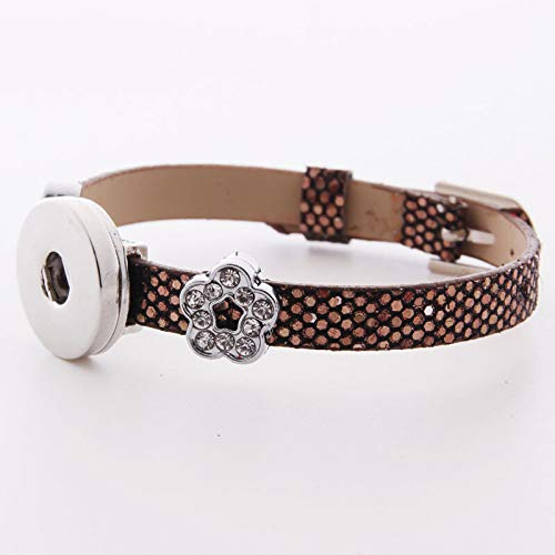 HOT DIY 1pcs Charm Silver Rhinestone wristband For
