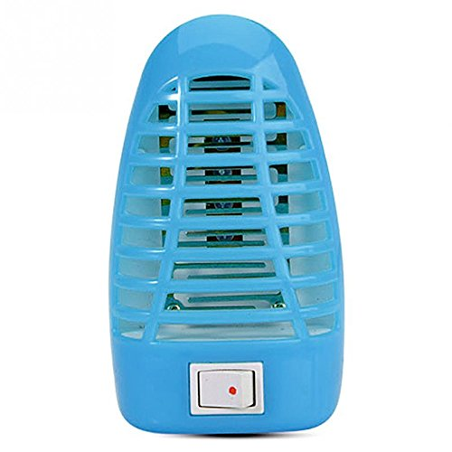 Bug Zapper Indoor Light Mosquito Killer | Anti-Mosquito Bulb | Eliminates Most Flying Pests | Bug Killer Lamp | Led Bug Zapper | Electronic Insect Killer – Blue