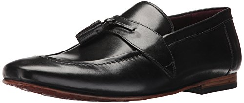 Ted Baker Mens Grafit Nero Mocassino