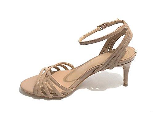 Indovina Damen Calzature Vestito Sandalo Riemchen Pumps Nude