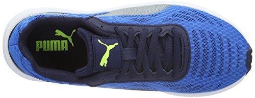 Mixte Basses silver Mehrfarbig 01 Puma blue Enfant Meteor Bleu Baskets n4EpS