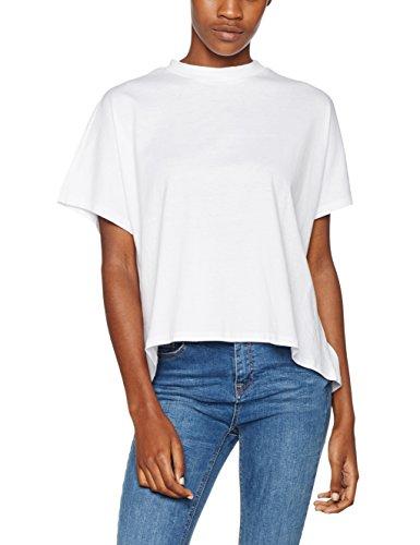 220 White Ladies T Shirt Wei Urban Donna Turtleneck Overlap Tee Classics vwqzwp