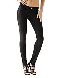 Guess Factory Women's Miri Ponte-Knit Skinny Pants