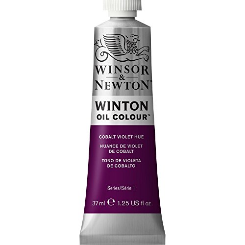 Winsor & Newton Winton Oil Colour Paint, 37ml tube, Cobalt Violet Hue (37 Ml Cobalt Violet)