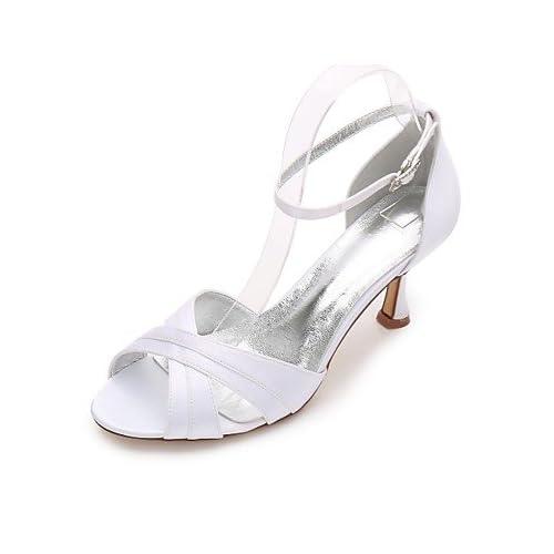 4f537235 De bajo costo El mejor regalo para mujer y madre Mujer Zapatos Satén  Primavera Verano Confort ...