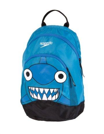 Marca: Speedo. Speedo Sea Squad - Mochila con diseño de tiburón, color azul