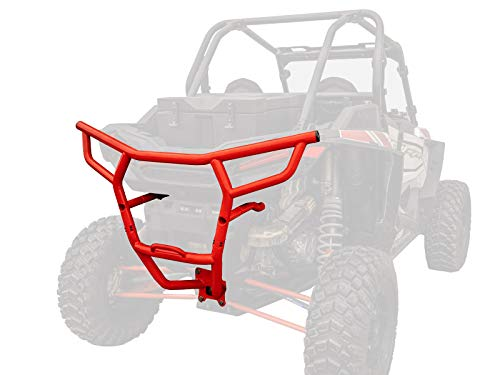 (SuperATV Heavy Duty Rear Bumper for Polaris RZR XP 1000 / XP 4 1000 (2019+) - Red)