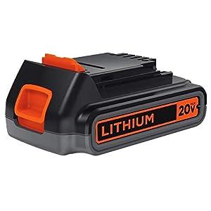 BLACK+DECKER LBXR2020-OPE 2.0 Ah Lithium Battery Pack, 20-volt